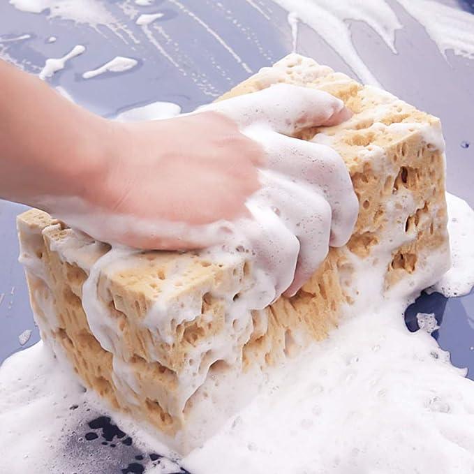 6 Piezas Nigrin 71414 Esponjas para Lavar el Coche