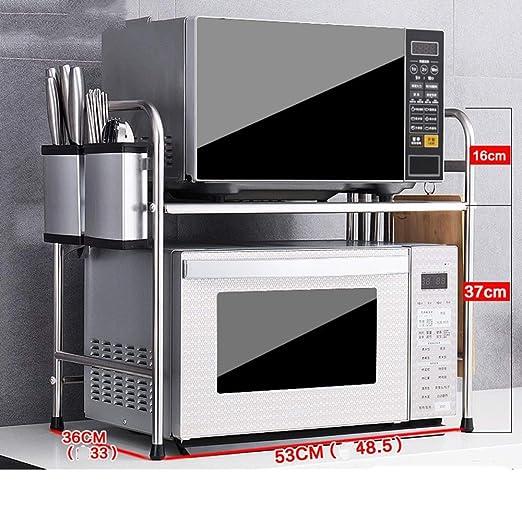 HUO,Estantes de cocina Bastidores de cocina Acero inoxidable ...