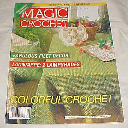 Magic Crochet Magazine February 1993 Number 82 -