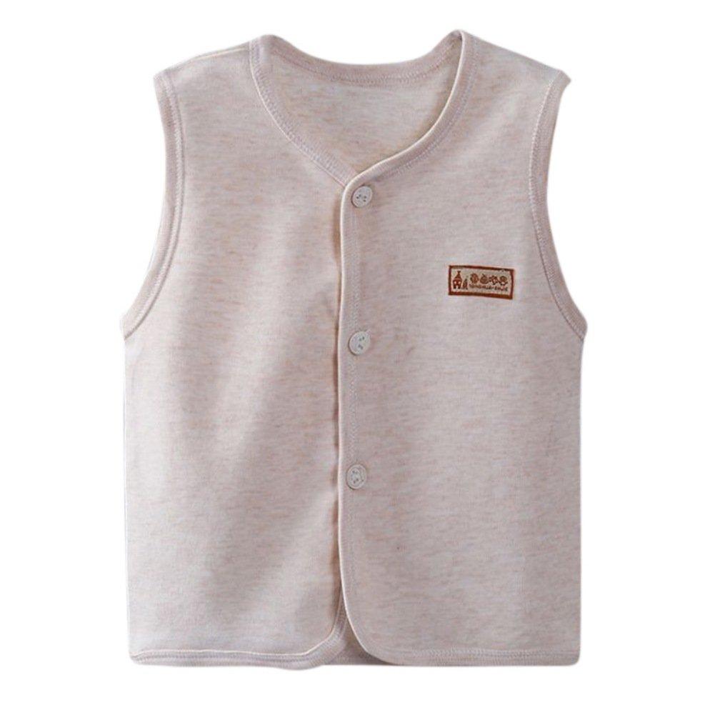 Bornbayb Kinder Weste /Ärmelloses Kleid Kinder Top Soft Atmungsaktive Jacke f/ür Jungen M/ädchen Baby