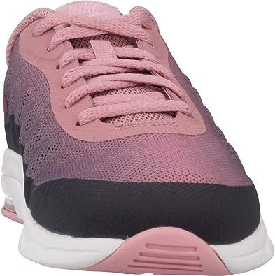 Nike Air Max Invigor Print (PS), Sneakers Basses Fille, Multicolore (GridironVintage Wine Pink 002), 28 EU
