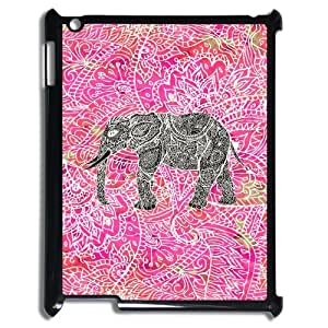 High Quality Custom Durable Case for Ipad 2,3,4 Case Cover with Happy Elephant Image WMJU146552