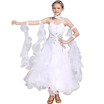 Q Jiu Ropa De Baile Para Niños Vestidos Rendimiento Licra