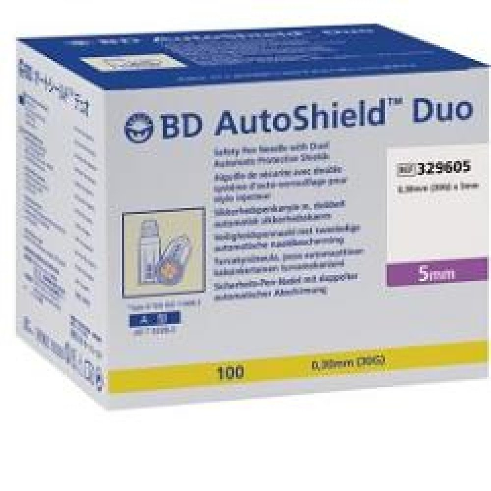August Bd AutoShield Duo G30 5mm