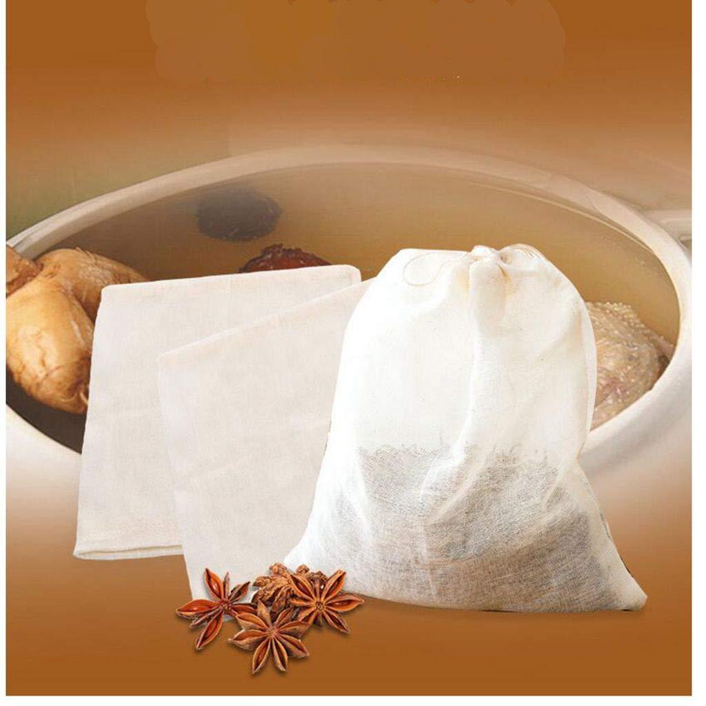 29a51eda0cb7 MagiDeal Milk Fine Cotton Strainer Bag Cheesecloth Juices Cheese Filter  Mesh Cloth - 30x30cm non-