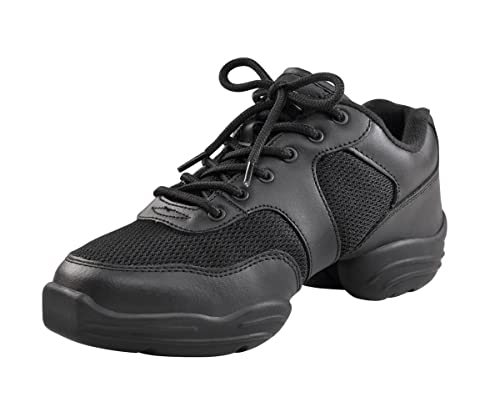 Capezio DS02 Low Top Dansneaker, Nero (Black), 35.5 EU