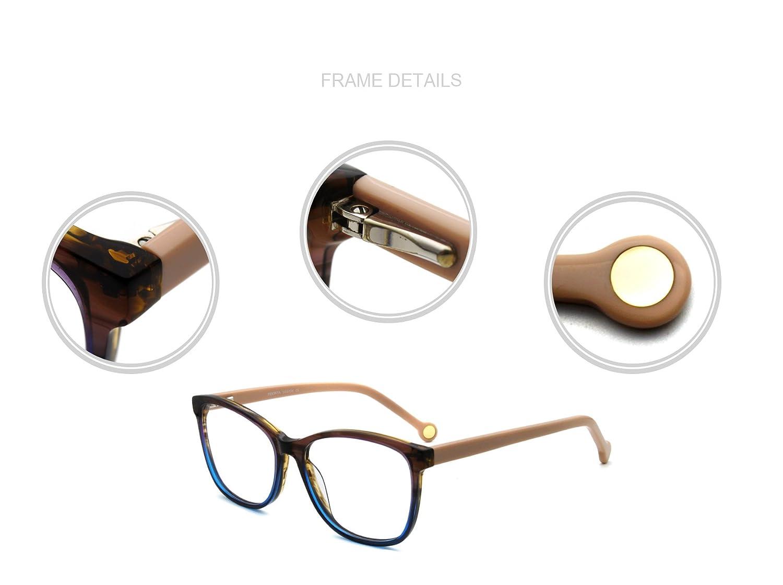 FERAVIA Butterfly Women Eyeglasses Lovely Optical Frame