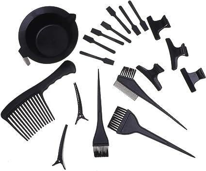 Beaupretty kit para teñir el cabello cuenco para teñir el ...