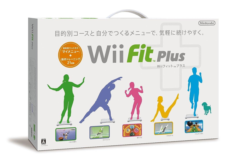 Wiiフィット プラス (バランスWiiボードセット) (シロ): Amazon ...