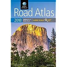 2018 Rand McNally Large Scale Road Atlas: Lsra