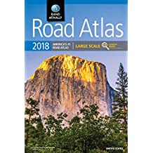 Amazoncom Atlases Maps Books Travel Maps Atlases - Large us road map poster
