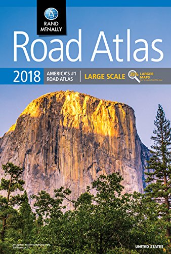 2018 Rand McNally Large Scale Road Atlas (Rand McNally Road Atlas) cover