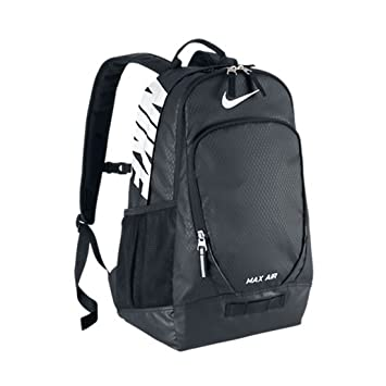 013e7f33057e NIKE MAX AIR BACKPACK- BLACK  Amazon.in  Bags
