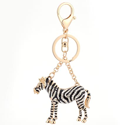 Image not available for. Color  Zebra Keychain 91d743df6e