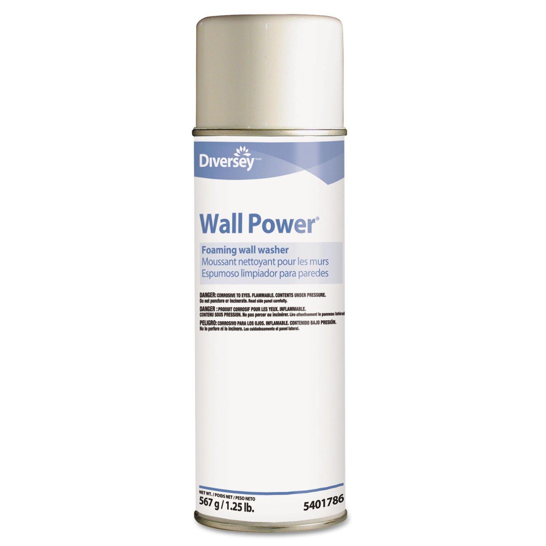 Diversey Wall Power Foaming Wall Washer, 20 oz Can (12/Carton) - BMC-DVO 95401786