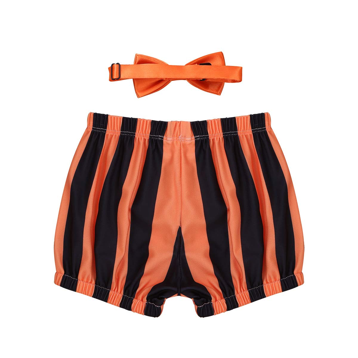 iiniim Baby//Toddler Boys Cake Smash Outfit First Birthday Diaper Cover Bloomers Bowtie Set