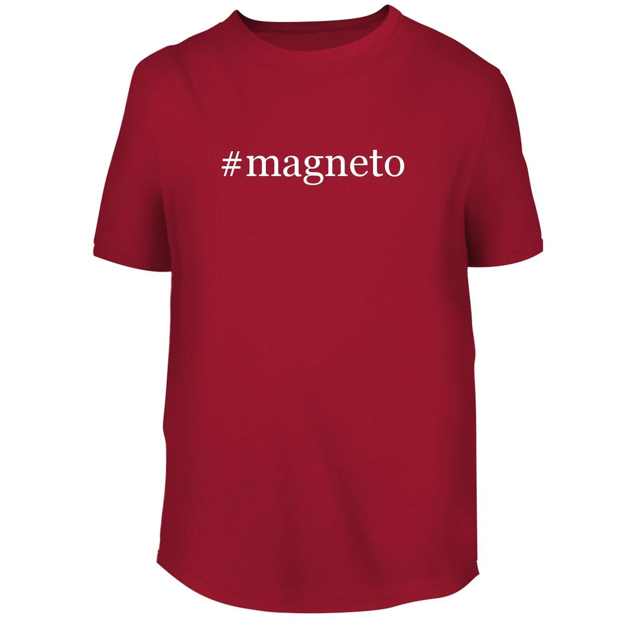 BH Cool Designs #Magneto - Men's Graphic Tee, Red, XX-Large