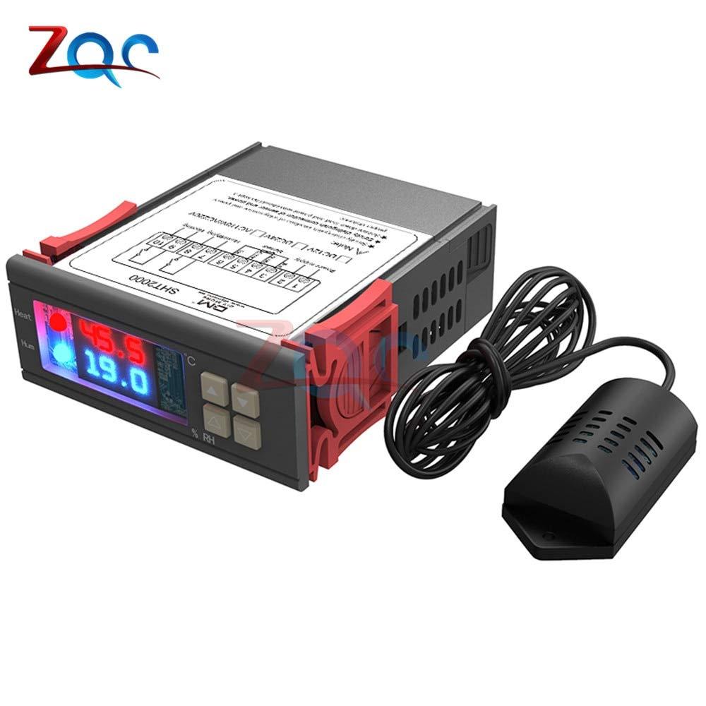 Digital Humidity Controller Hygrostat Relay Hygrometer Control Switch AC 220V