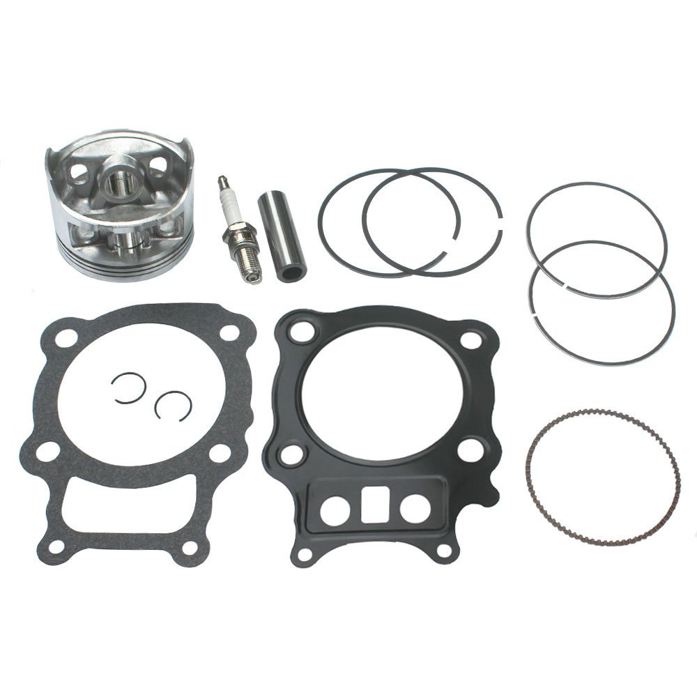 KIPA Piston Gasket Top End Kit For Honda Rancher 350 TRX350 TRX350FE TRX350FM TRX350TE TRX350TM ATV Quad 2000-2006 Replace OEM # 13101-HN5-670 12100-HN5-670 by KIPA
