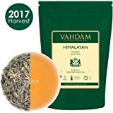 Imperial White Tea Leaves from Himalayas (25 Cups), World's Healthiest Tea Type, Powerful Anti-Oxidants, Floral & Delicious, 1.76oz