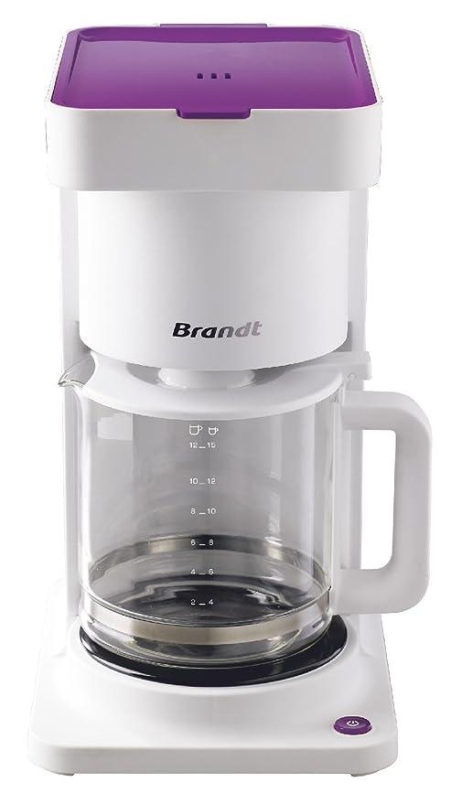 Brandt caf1409r cafetera filtro 13 tazas rosa 1000 W: Amazon.es: Hogar