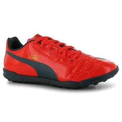 c2428f27847d Puma evoPOWER 4 pour gazon-Junior Astro Chaussures de Sport Baskets à  lacets - Orange