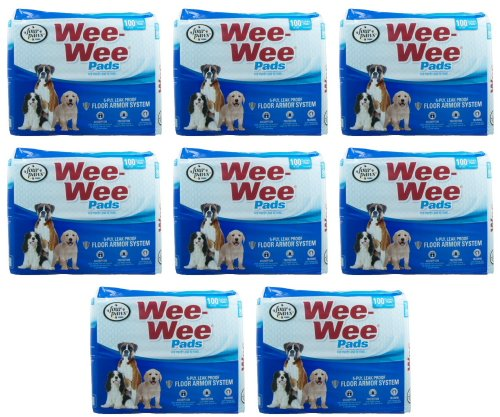 Four Paws 800pk Bags 22x23 Wee Wee Pads by Four Paws
