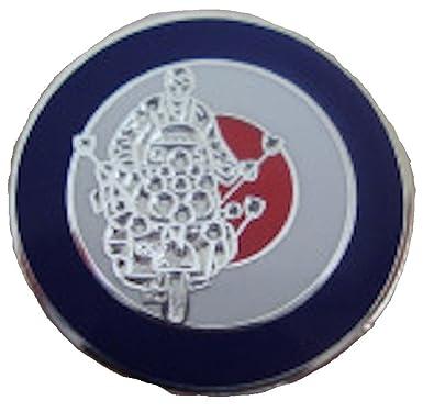 84ad4364f2b Scooter Mod Target Circle Enamel Pin Badge Red Blue White 2cm x 2cm   Amazon.co.uk  Clothing