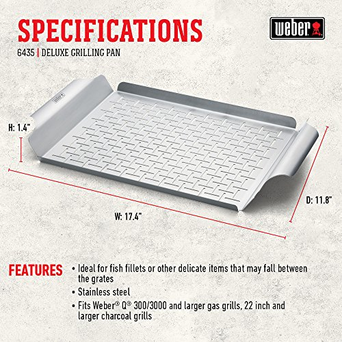 Weber Style 6435 Professional-Grade Grill Pan by Weber (Image #5)