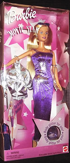 Amazon barbie movie star doll 1999 toys games barbie movie star doll 1999 voltagebd Image collections