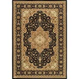 Home Dynamix Triumph Garnet 5'2″ x7'6 Area Rug Black Review