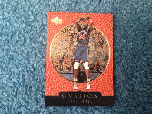 1998-1999 Upper Deck Ovation Basketball Patrick Ewing Card GOLD #44 Limited Edition 0325/1000! New York Knicks Hall of Fame Center! Seattle SuperSonics, Orlando - Orlando Oakley