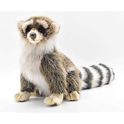 HANSA Young Raccoon Plush: Toys & Games