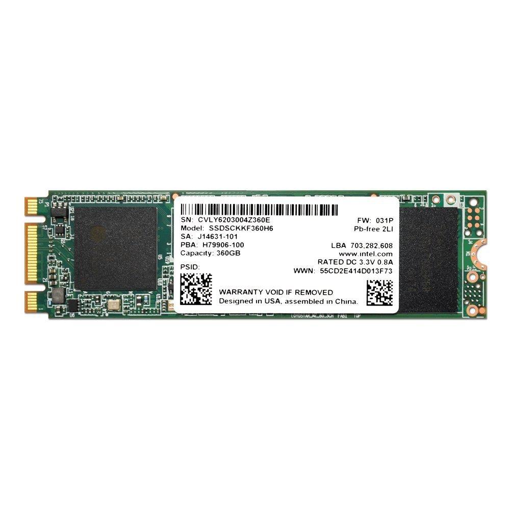 M.2 2280 60GB SATA Intel 3.15 Hard Disk Pro 5400s Series 360