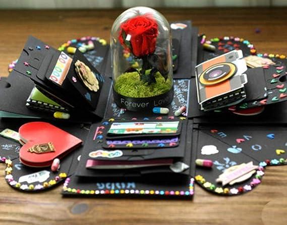 CJK2H - Caja sorpresa creativa para regalo de cumpleaños ...