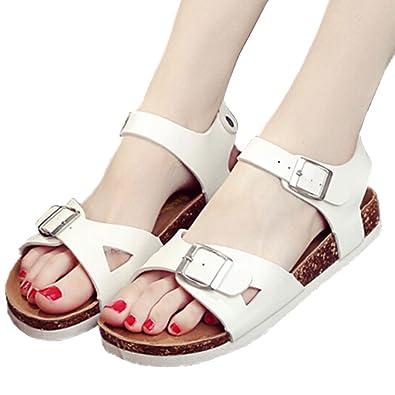 535ac03463d Beach Kids Gladiator Sandals Boys Girls Cork Sandal Kids Flip Flops  Sandalia Infantil Kids Moda Parent