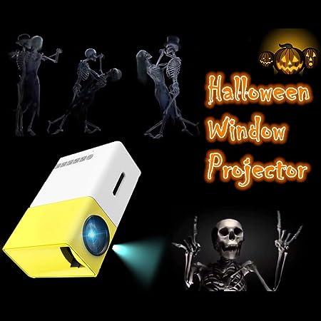 Halloween Window Projector | Halloween Decoration Projector Led Christmas Mini Smartphone