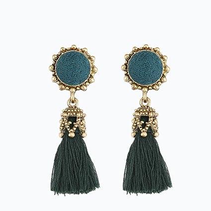 3e795f1e0 Amazon.com: Mr.Macy Earrings For Women,Rhinestones Crystal Tassel ...