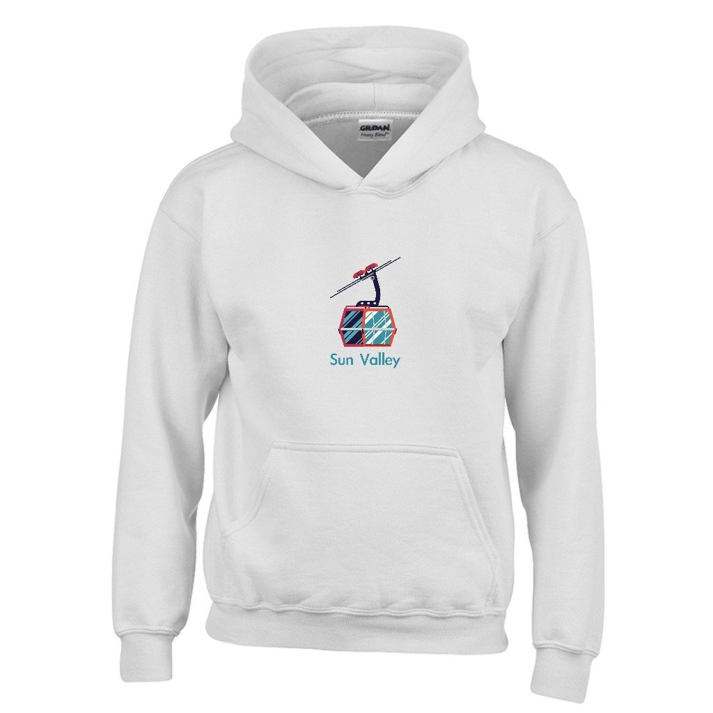 Sun Valley Gondola Youth Hoodie Idaho Kids Sweatshirt