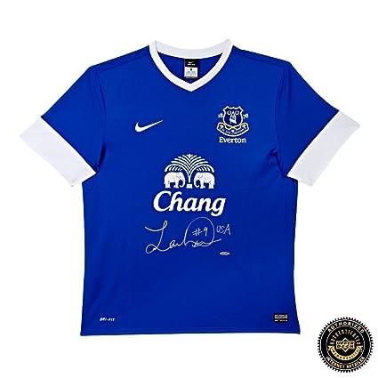 new product 152db c4323 Landon Donovan Autographed/Signed Authentic Blue Nike ...