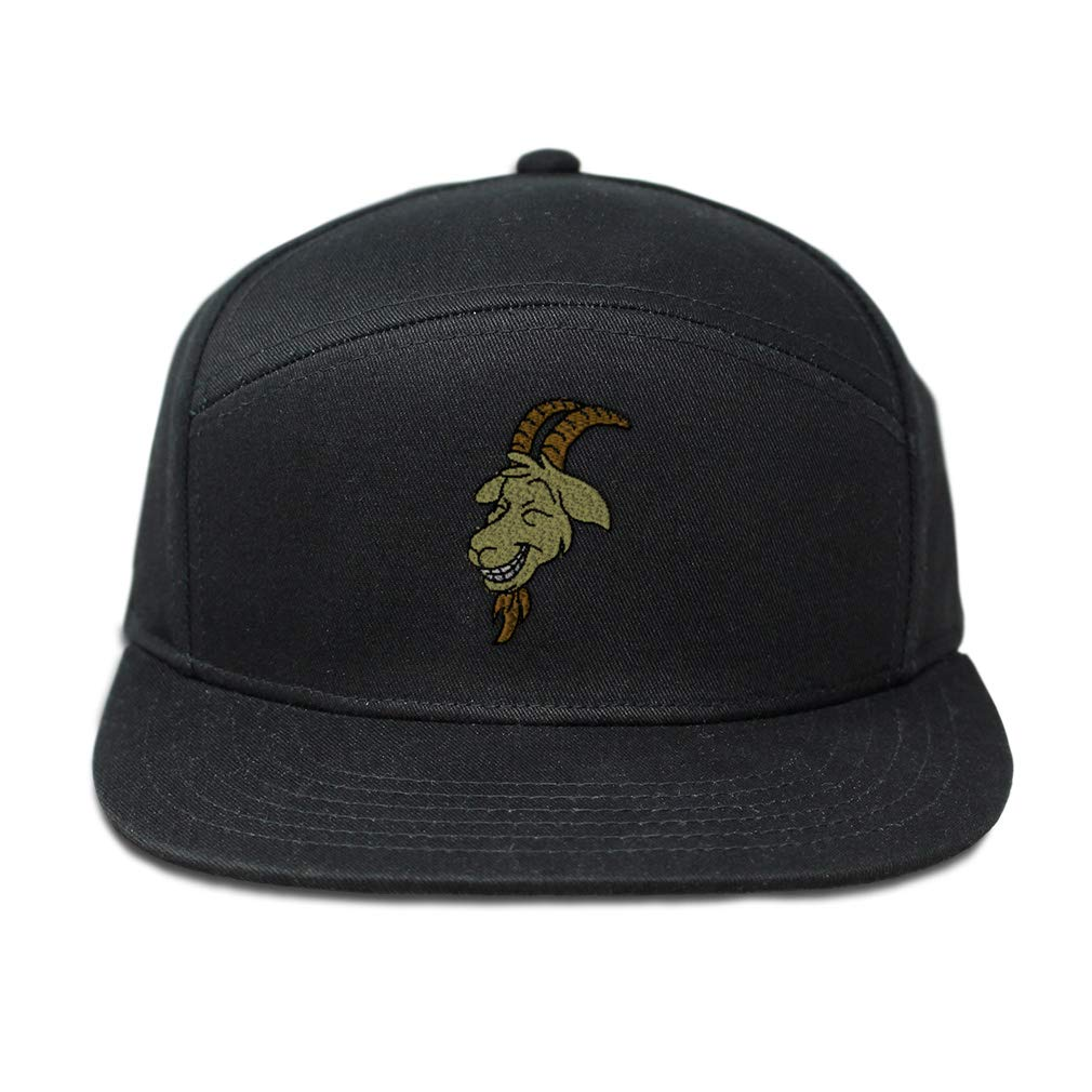 Custom Snapback Hats for Men /& Women Boer Goat Smiling Face Embroidery Cotton