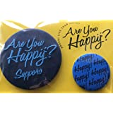 嵐 「LIVETOUR Are you Happy? 2016」 公式グッズ 札幌会場限定 バッジセット