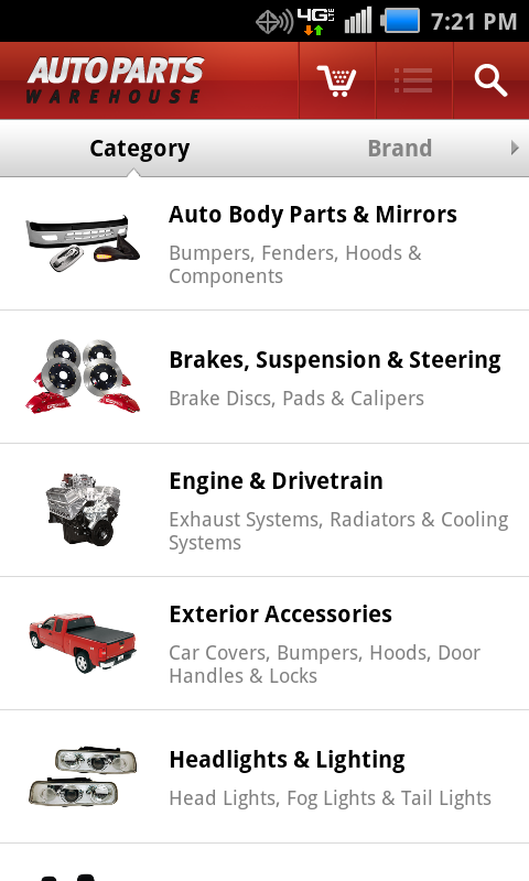 Amazon Com Auto Parts Warehouse Appstore For Android