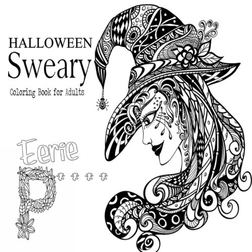 halloween sweary coloring book for adults - Fantasy Coloring Books For Adults