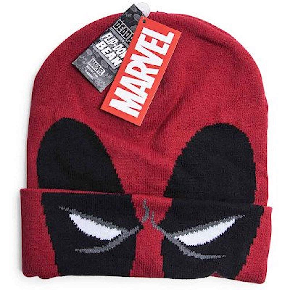Marvel Flip Down Beanie Hat Cap
