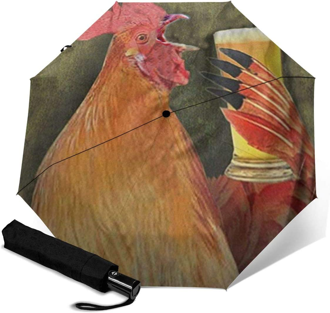 Reverse Inverted Windproof Vulture Animal Bird Umbrella Upside Down Umbrellas with C-Shaped Handle for Women and Men Double Layer Inside Out Folding Umbrella