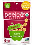 Peeled Organic Snacks, Apple Clusters, Original, 2.1 Ounce