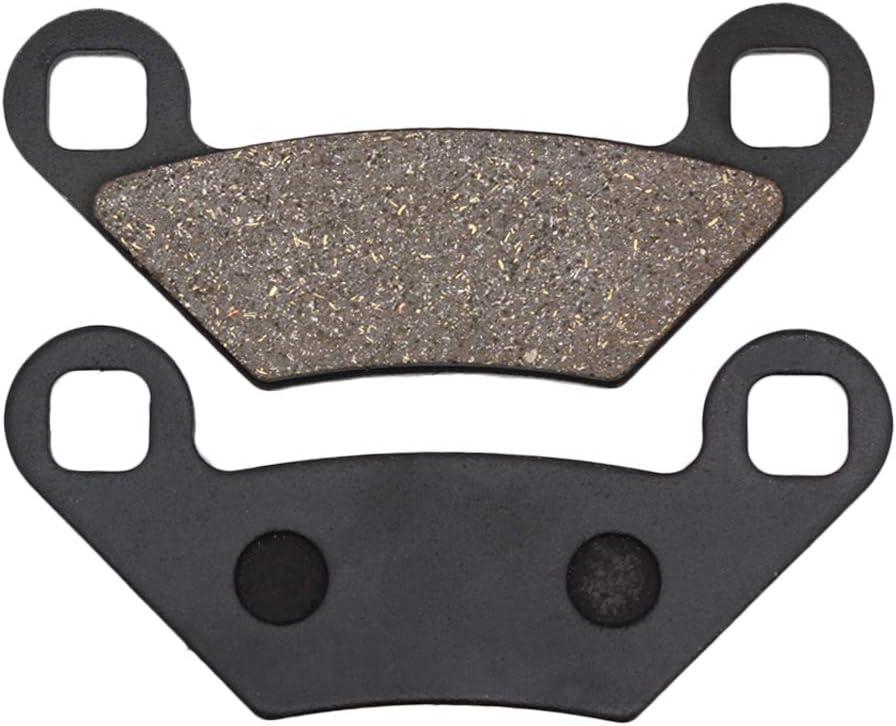 Cyleto Front and Rear Brake Pads for POLARIS Sportsman 550 XP EPS 2009-2014 550 Sportsman X2 2010-2014 550 Sportsman Touring EFi 2010-2012 850 XP Sportsman 2009-2011