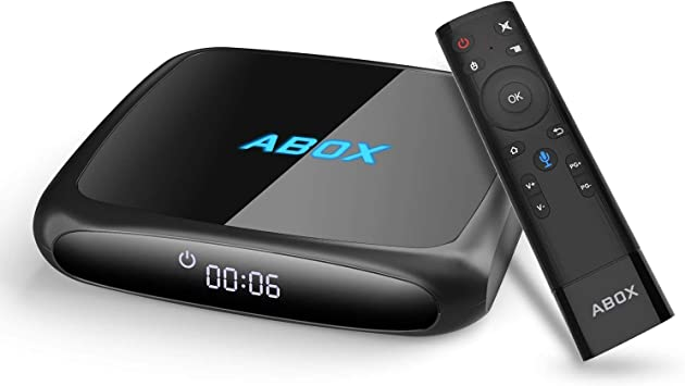 ABOX A4 Android TV Box con Voice Remote y 4K Ultra HD Android 7.1 Quad Core 2GB RAM/16GB ROM Soporte 2.4GHz WiFi Bluetooth 4.0 Smart TV Box: Amazon.es: Electrónica