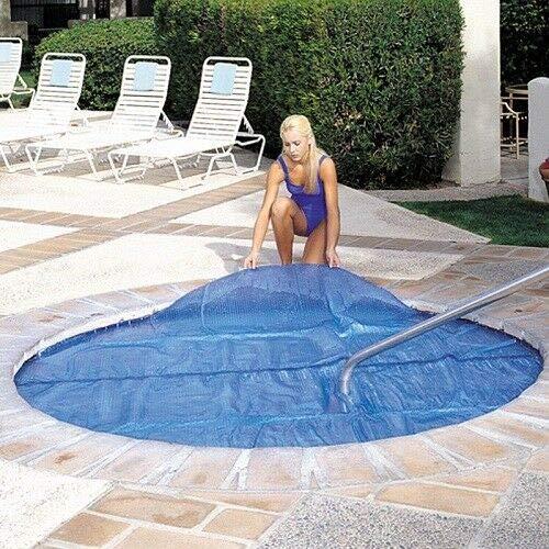 Olimp_ShoP 6'x6' Ft Square Spa & Hot Tub Thermal Solar Blanket Cover- 15 Mil